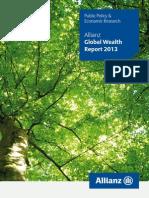 allianz [public policy & economic research] 2013_global wealth report 2013