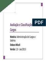 05-deboramiceliremuneracaoavaliacaodecargos-130505150634-phpapp02