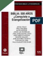RIBLA 11-Conquista o evangelización