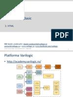 Web Design Basic - Curs 2 - HTML v01