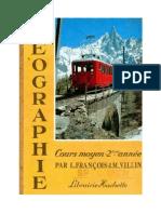 Géographie François-Villin CM2 1962