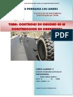 Control de Calidad Para La Construccionde Carreteras
