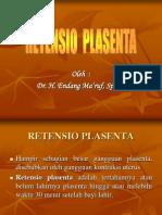 Retensio Plasenta [Dr. Endang]