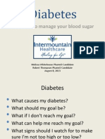 diabetes education 1