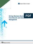 IRON MOUNTAIN Maximum Business Value eBook Final 2