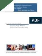 Holyoke Geriatric Authority Report