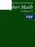 MIR - Zeldovich Y. and Yaglom I. - Higher Math for Beginners - 1987