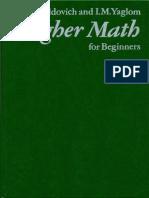 MIR - Zeldovich Y. and Yaglom I. - Higher Math for Beginners - 1987