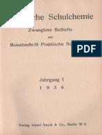 Praktische Schulchemie 1936 / Jahrgang 1