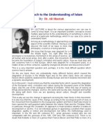 An Approach to the Understanding of Islam - Ali Shariati