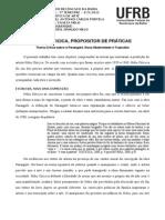 Hélio Oiticica, propositor de práticas