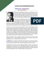 Reflections of Humanity - Ali Shariati