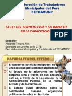 Exposicion Servicio Civil y Capacitacion
