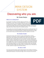 0 - Human Design - Discovering Who You Are - HUMAN DESIGN SYSTEM