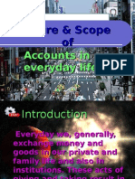 Nature & Scope of accounting