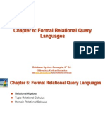 03 Ch6 Formal Query Languages