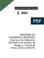 Guia APPCC Conservas Vegetales