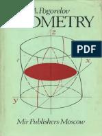 MIR - Pogorelov a. v. - Geometry - 1987