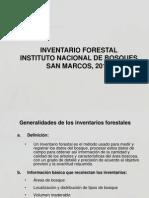 3-Inventarios forestales 2011