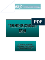 Armado del Tablero de Comando. Casos prácticos (12-09-13)