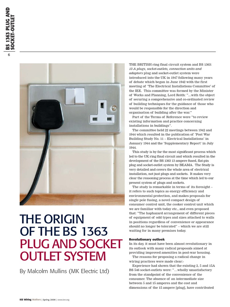 bs1363 pdf ac power plugs and sockets fuse (electrical)