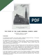 Clark Memorial Church, Largs - History