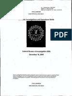 FBI Ops Manual