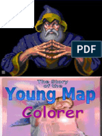 The Young Map Colorer - Kinesthetic Game