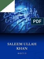 Saleem Ullah Khan