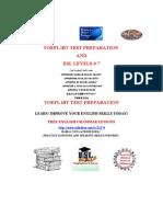 TOEFL iBT Flyer