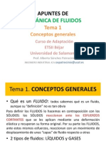 Ingenieria de Fluidos Incompresibles Tema 1