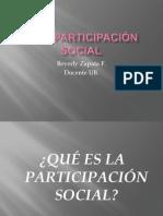 AM Y PARTICIPACIÓN SOCIAL