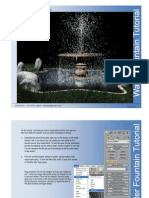 3ds max - Water Fountain Tutorial (Page 1-9)