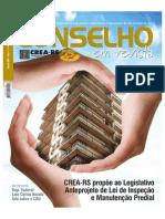 REVISTA CREA-RS - EDIÇÃO 60 - ARTIGO INSPEÇÃO DE ELEVADORES