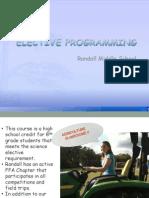 Master Elective Programming