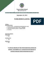 September 26, 2013 - Agenda(2)