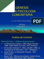 Clase 1 - Origen de La Psicologia Comunitaria - 2013 - 2