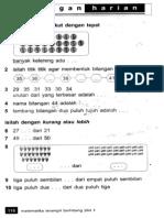 Ulangan Harian 5 - Practice Math Test 5
