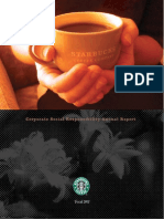Starbucks Global Responsibility 2001