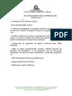 DOCUMENTOS NECESSÁRIOS PARA SUPRESSÃO DE VEGETAÇÃO ALAGOAS