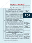 JAVA PROJECTS ON 2013 IEEE PAPERS