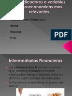 Los indicadores o variables macroeconómicas mas relevantes BAUTISTA