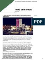 Augmented Place. Nuova Arte Pubblica? Intervista Alla Curatrice Giada Pellicari Di Filippo Lorenzin