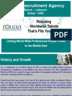 Rouaa Recruitment - Middle East Dubai