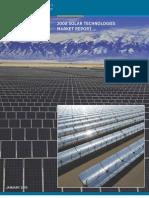 Renewables Solar Technologies Market Report 2008