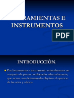Clase Nº3 HERRAMIENTAS E INSTRUMENTOS
