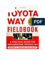 Toyota Way Field Book