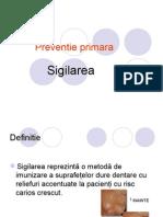 Curs Platforma SIGILARE Preventie Secundara