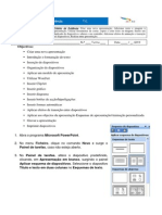 Ficha de Trabalho Powerpoint Completa Efa