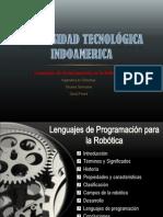 Lenguajes de Programación en la Robótica.ppsx